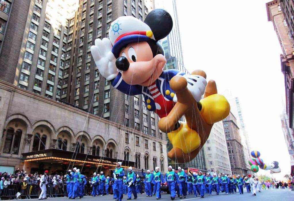 Macy's Thanksgiving Parade em New York