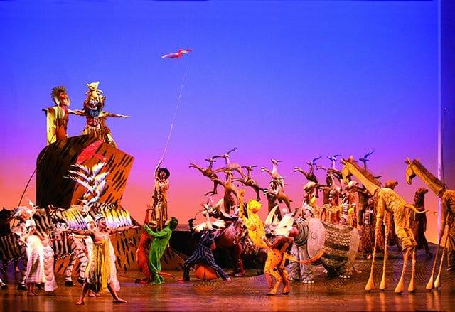 Musical O Rei Leão na Broadway em Nova York