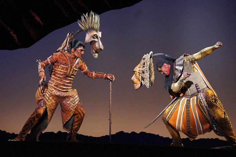 Musical O Rei Leão em Nova York