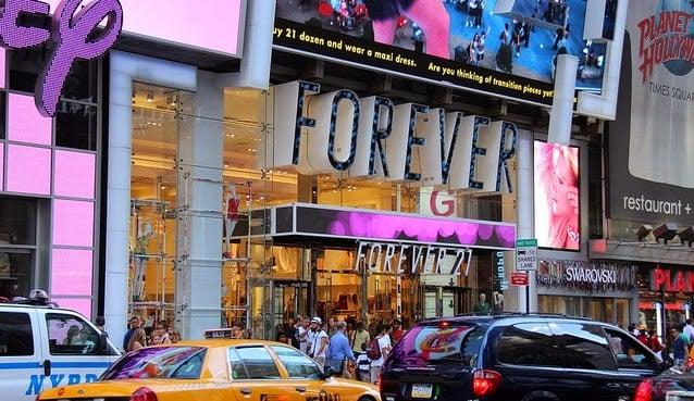 Compras em Nova York Forever 21