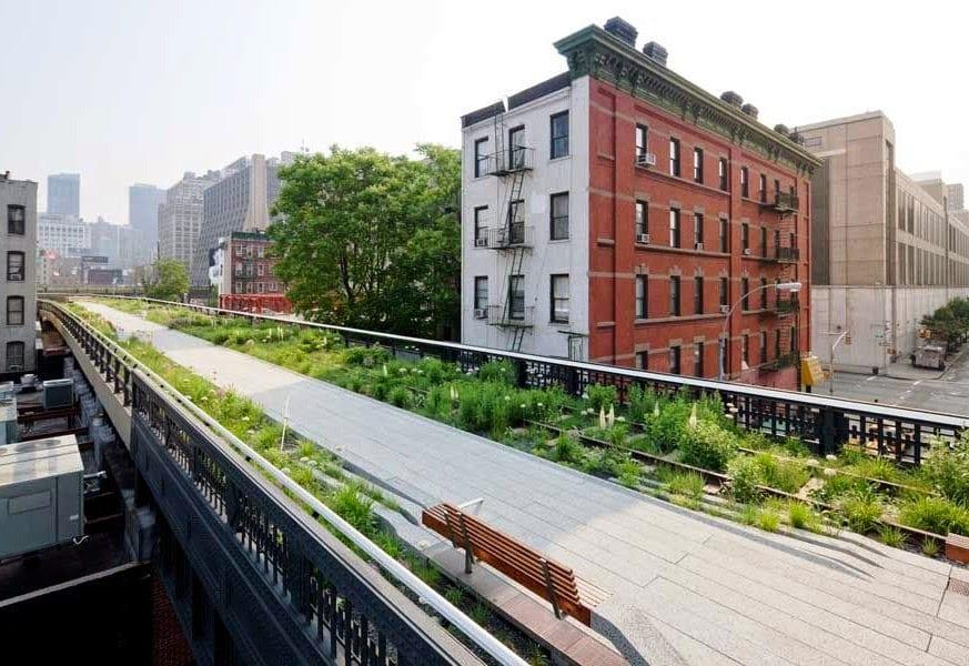 High Line o parque suspenso de Nova York