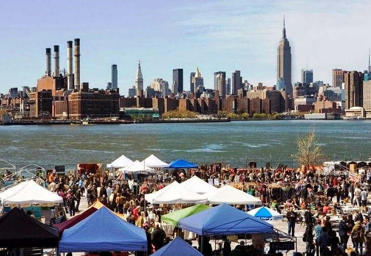 Brooklyn Flea em Nova York: Feira hipster
