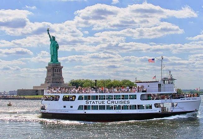 Pontos turísticos em Nova York: Estátua da liberdade