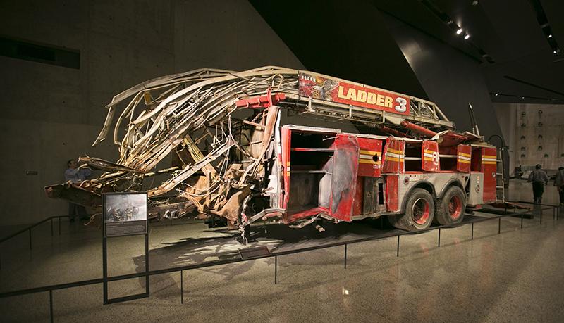 Exposição do Memorial de 11 de Setembro em Nova York