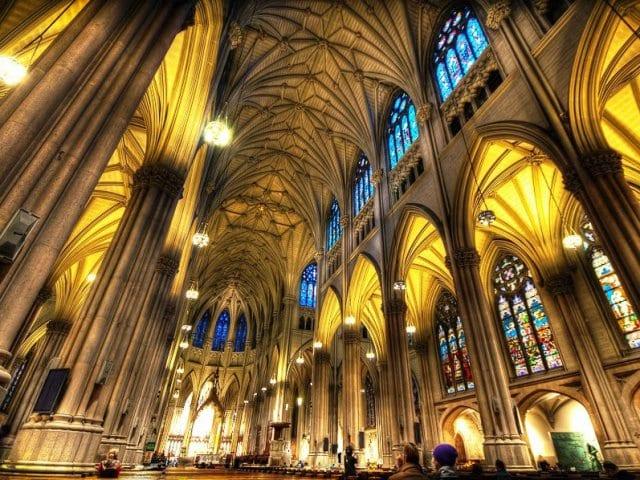 Igreja Saint Patrick's Cathedral em Nova York