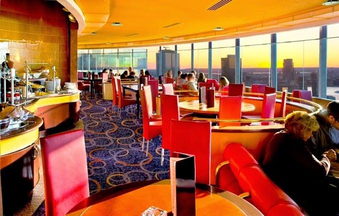 Restaurante The View em Nova York