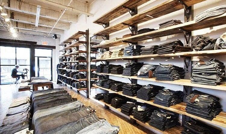 Loja Brooklyn Denim Co. em Nova York