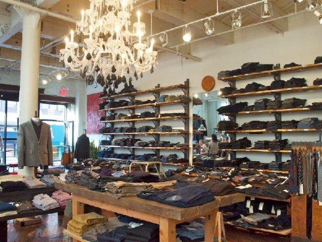 Loja Brooklyn Denim Co. em Nova York | Calça Jeans