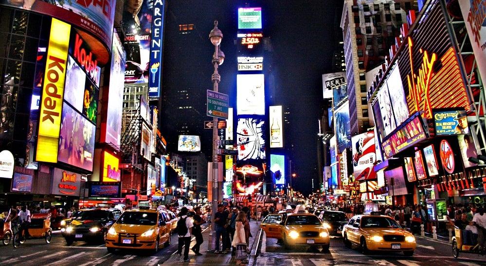 O que fazer em Nova York: Times Square