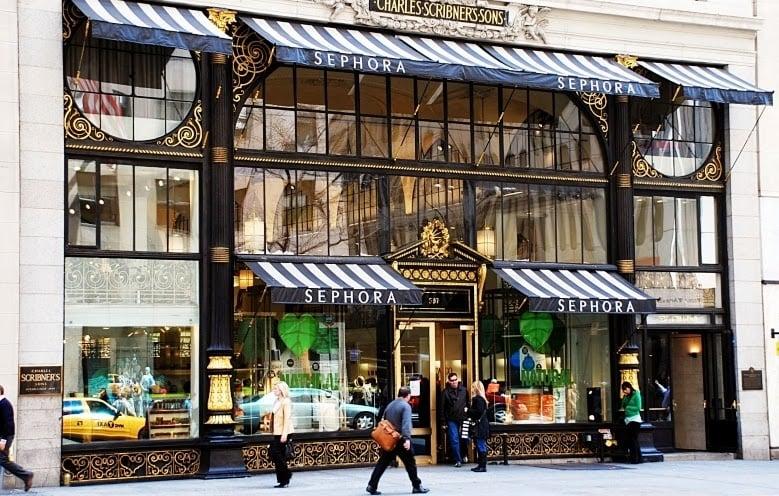 Lojas Sephora em Nova York