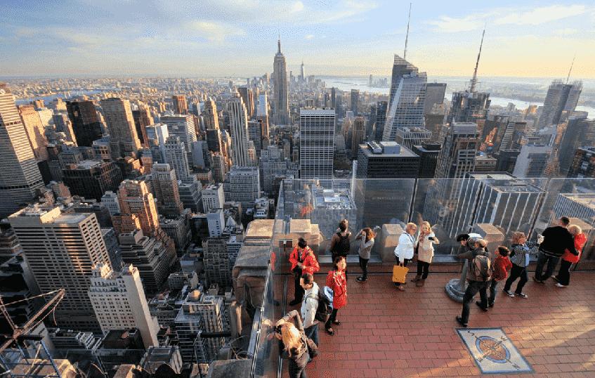 GE Building no Rockefeller Center em Nova York