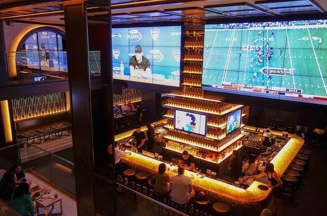 Bar 40/40 Club em Nova York