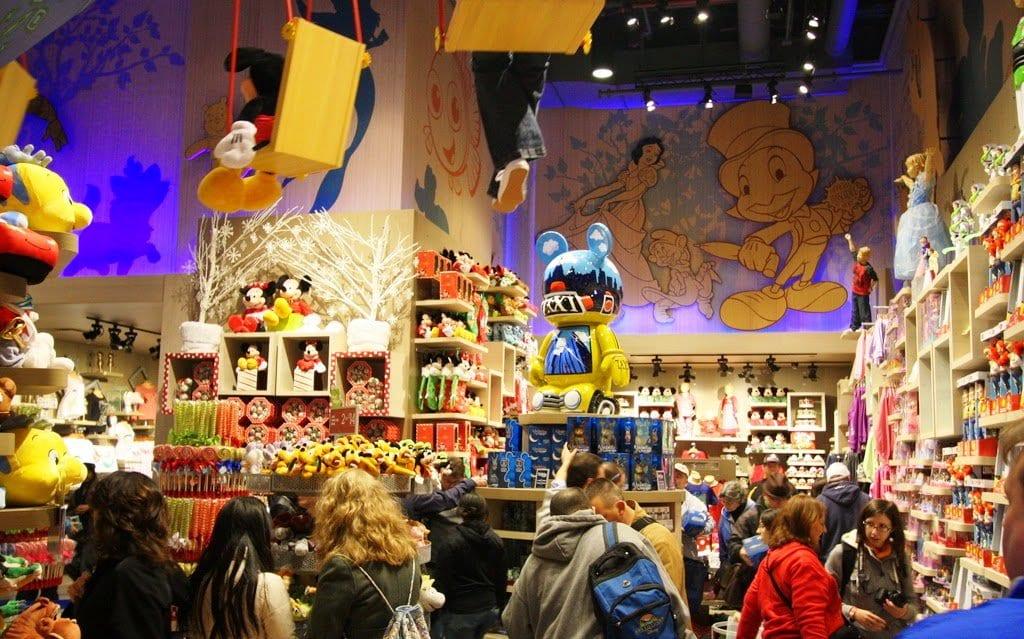 Lojas de brinquedos em Nova York