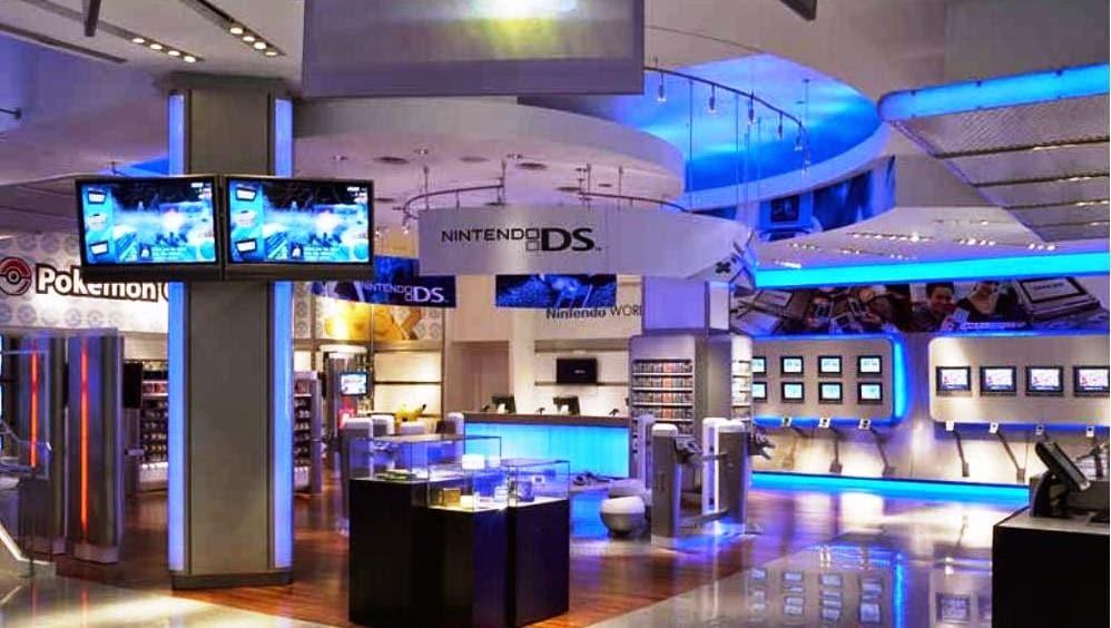 Loja de brinquedos Nintendo World em Nova York