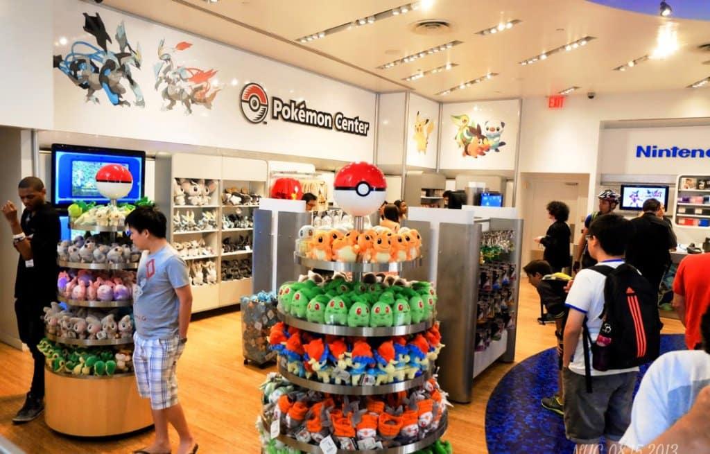 Loja Nintendo World em Nova York