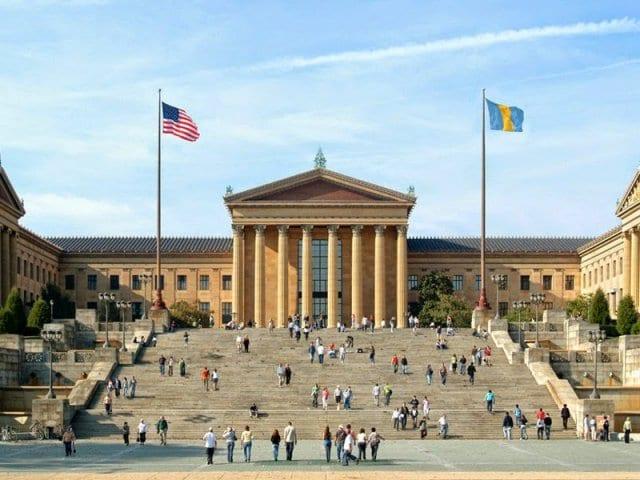 A Escada de Rocky Balboa em Nova York na Philadelphia