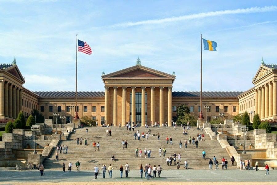 Escada de Rocky Balboa Philadelphia