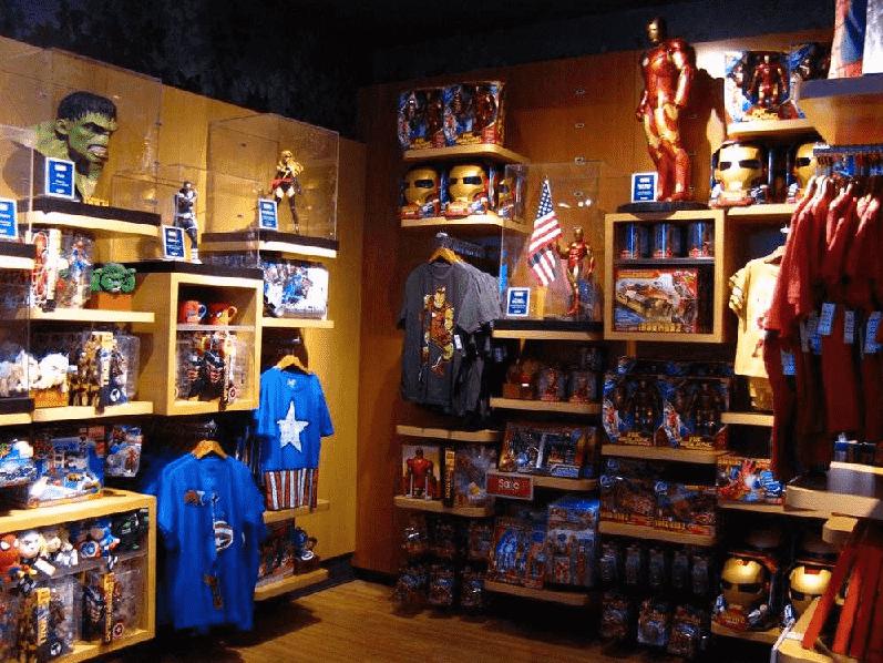 Loja de brinquedos Disney Store em Nova York