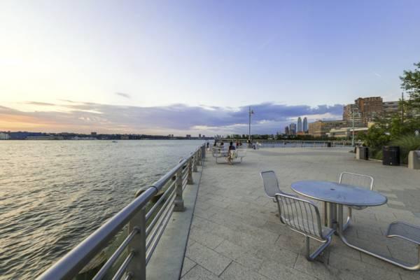 Rio Hudson - Parque Chelsea Waterside em Nova York