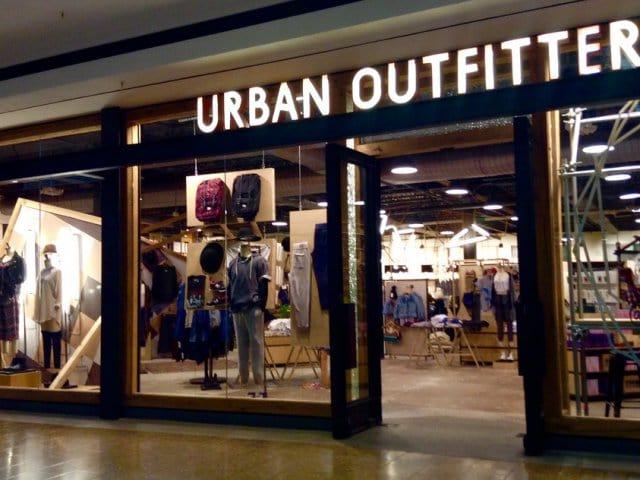 Lojas Urban Outfitters em Nova York