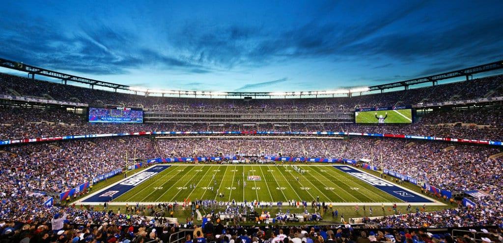 Jogos de futebol americano NFL em Nova York