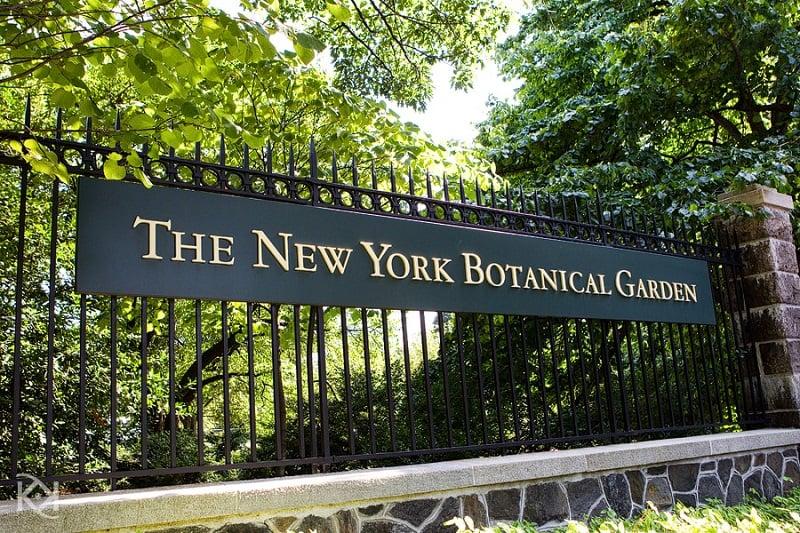 Jardim Botânico do Bronx em Nova York