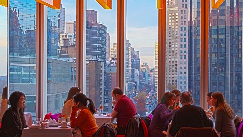 Restaurante Robert em Nova York