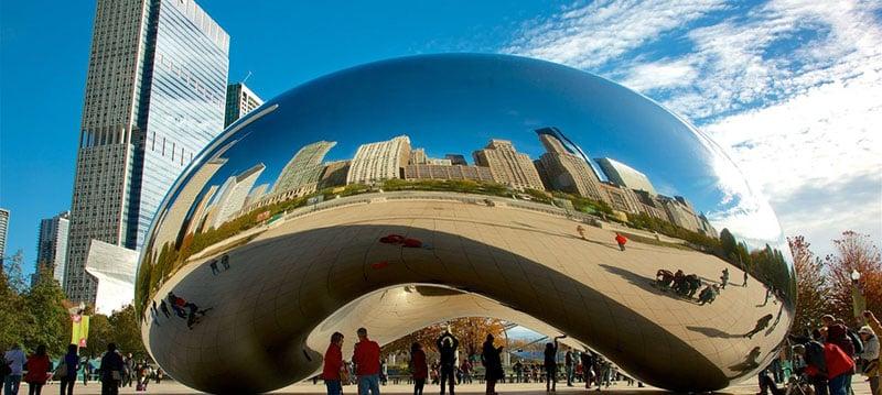 Parque Lincoln Park em Chicago