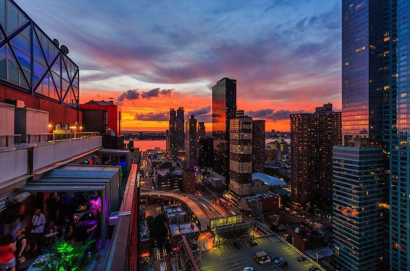 Bares com vista do alto de Nova York