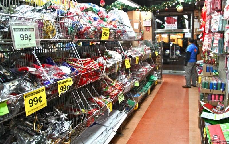 Como é a loja de 99 cents Jack's World em Nova York