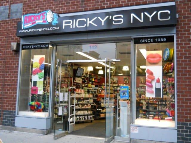 Lojas Ricky's em Nova York   Produtos de beleza e cabelo