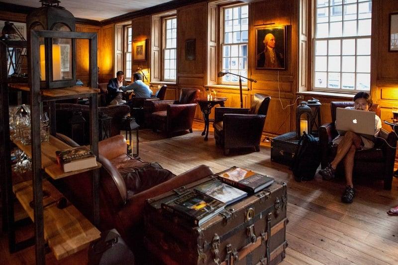 Visita à Fraunces Tavern