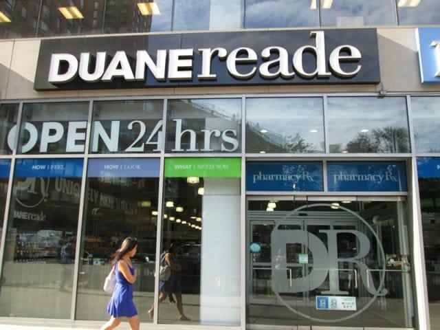 Farmácias Duane Reade em Nova York
