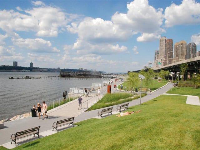 Parque Riverside Park em Nova York