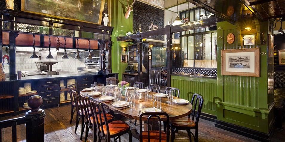 Restaurante The Breslin em Nova York