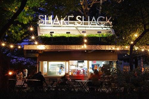 Lanchonete Shake Shack em Nova York