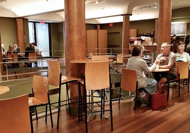 Café Serai em Nova York
