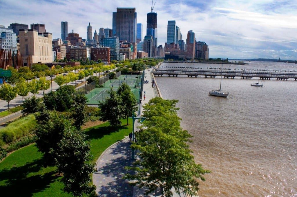 Hudson River Park em Nova York
