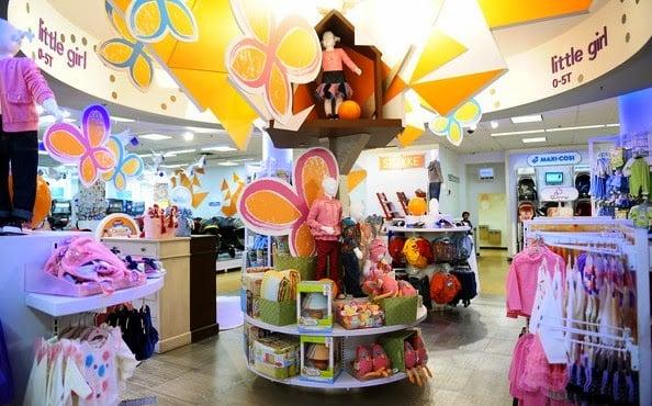 Lojas de roupas infantis em Nova York