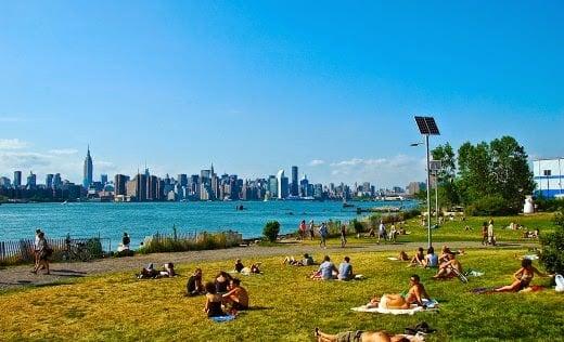 Parque East River State Park em Nova York