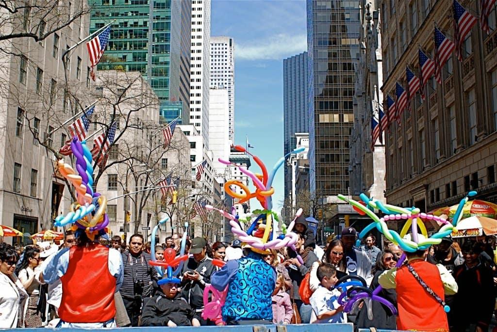 Easter Parade em Nova York - o Desfile de Chapéus