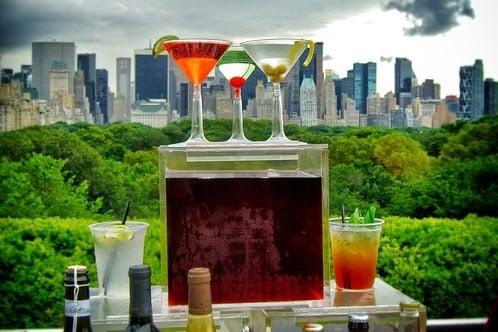 Bar Roof Garden Café and Martini em Nova York