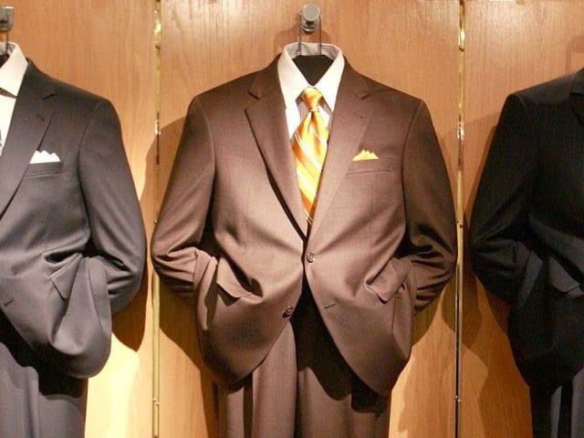 Loja de roupas masculina Mens Wearhouse em Nova York