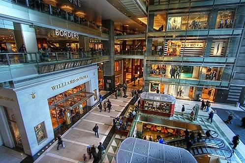 shoppings em Nova York