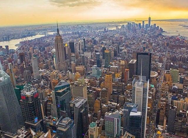 Como Nova York é dividida por regiões