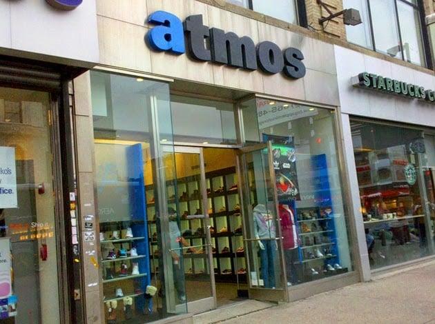 Loja de tênis Atmos em Nova York