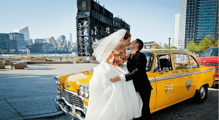 Vestido de noiva em Nova York