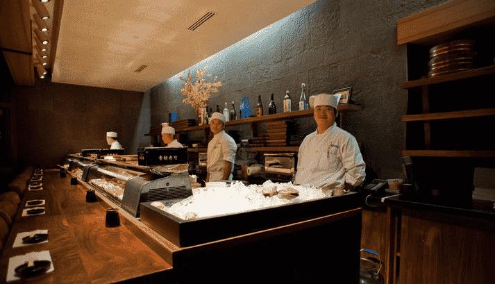Restaurante Blue Ribbon Sushi em Nova York