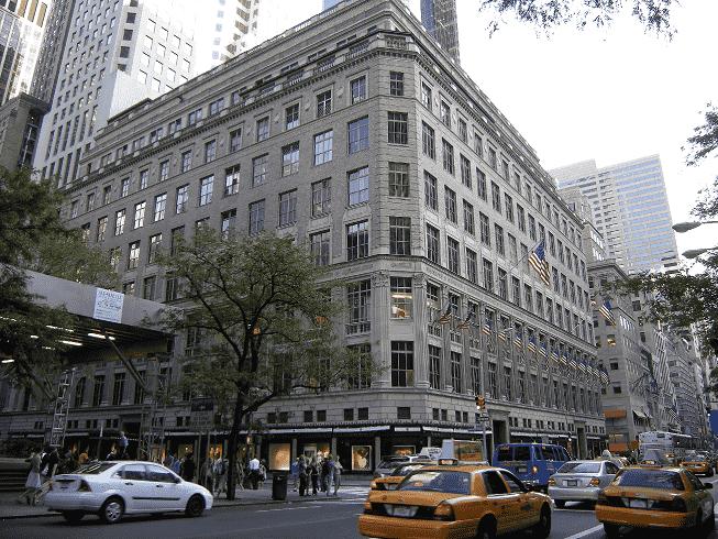 Loja Saks em Nova York