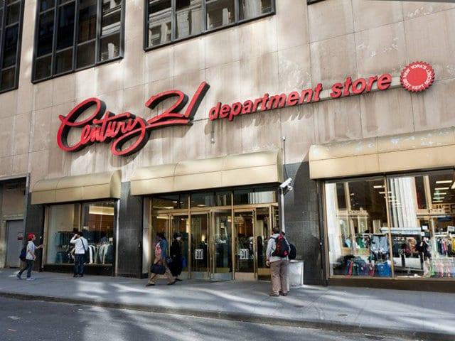 Loja Century 21 em Nova York